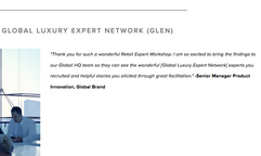 Joined the Luxury Institute's Global Luxury Expert Network (2020)