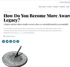 Thrive Global: Article