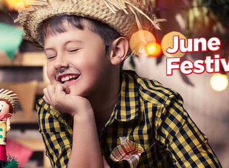 Ihaaaa! Chegou a hora dos June Festivals