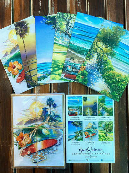 Greeting Card Set - North County