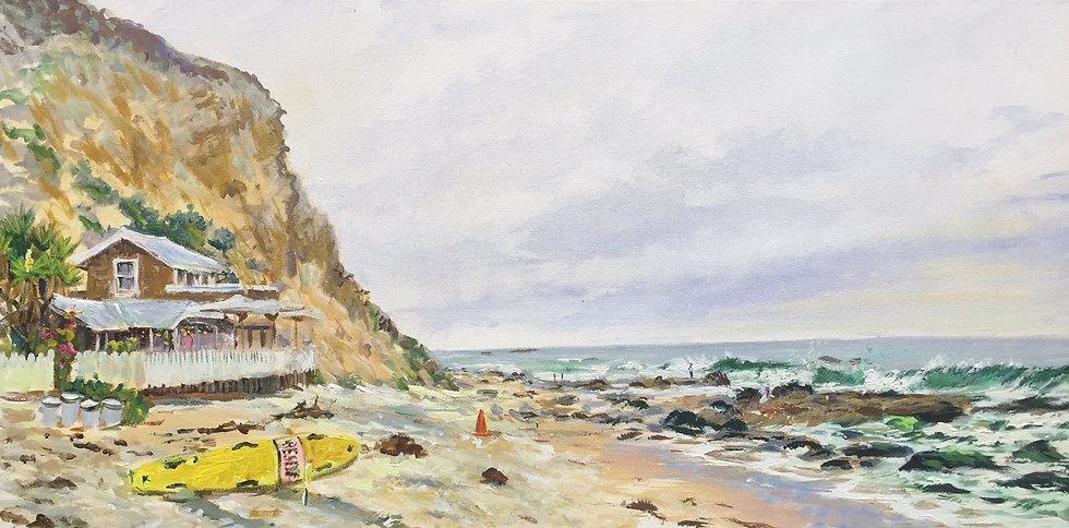 """The Beach House 18""""x 36"""""""