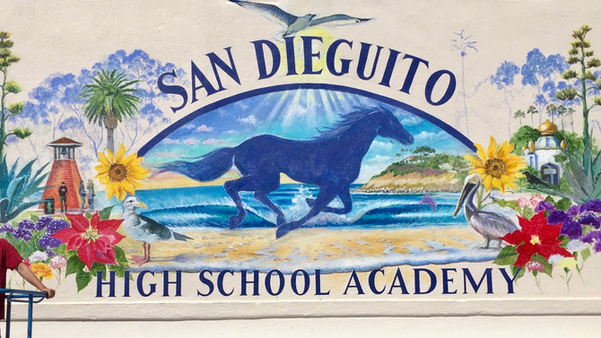 Mural at San Dieguito High School