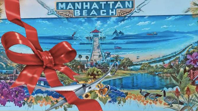 Ribbon cutting to unveil new Mural in Manhattan Beach!