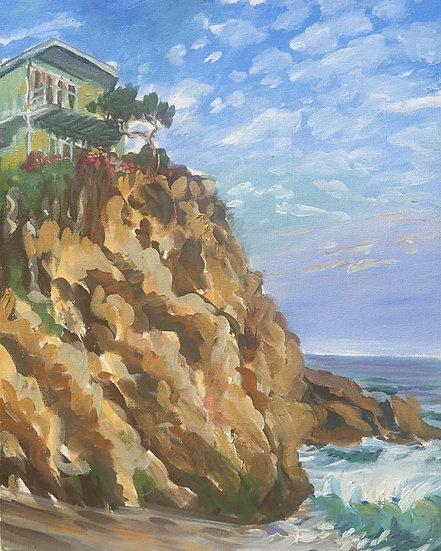 "Cliff House 16""x 20"""