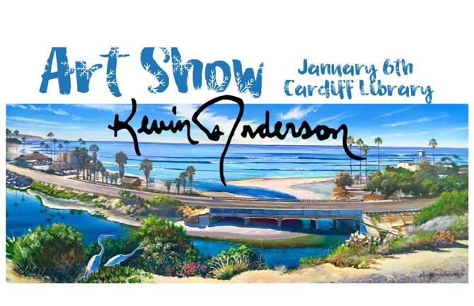 Art Show & 2018 Calendar signing