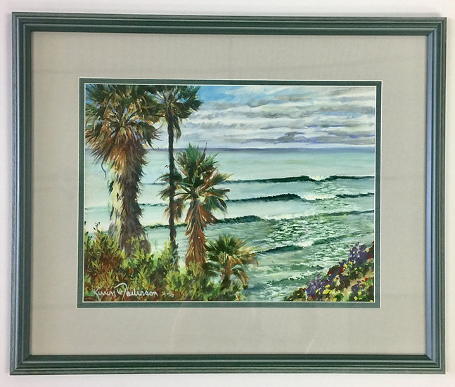 """Perfect Surf"" with Custom Frame"