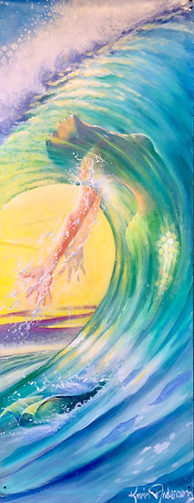 "Body Surf 10""x 28"""