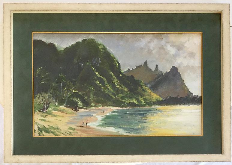 """""""Bali Hai"""" with Custom Frame"""