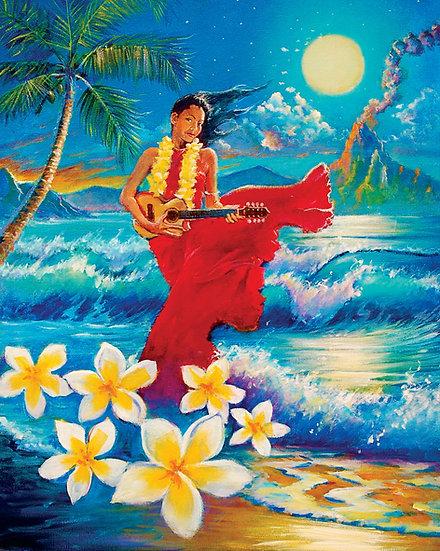 Hawaiian Moonlight Siren
