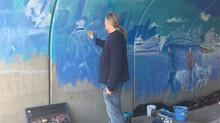 New Mural at Civita