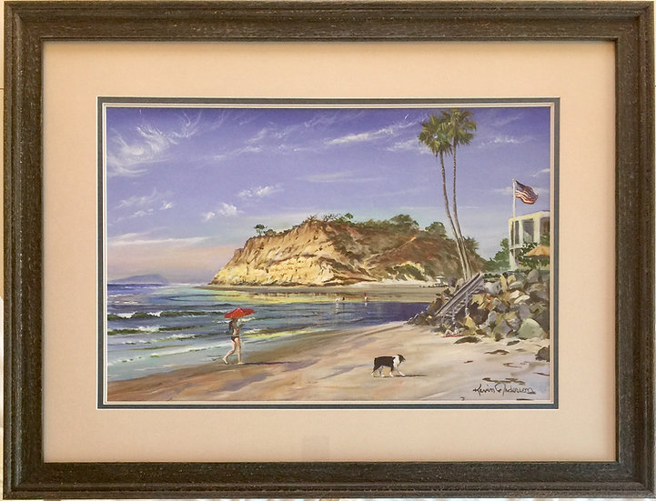 """""""River Mouth"""" with Custom Frame"""