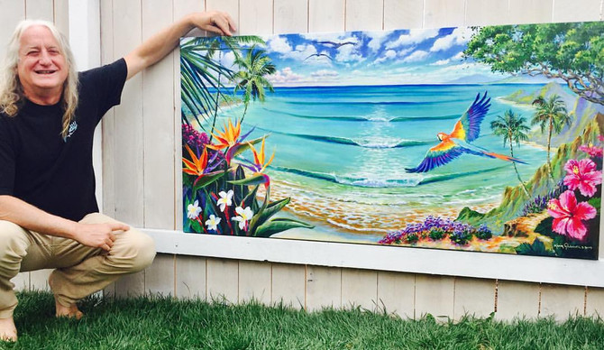 New Painting - Tropical Paradise