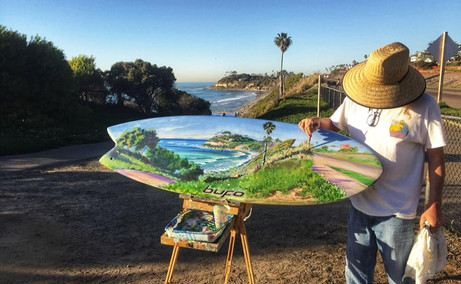 Surf Art Show - Front Porch Gallery