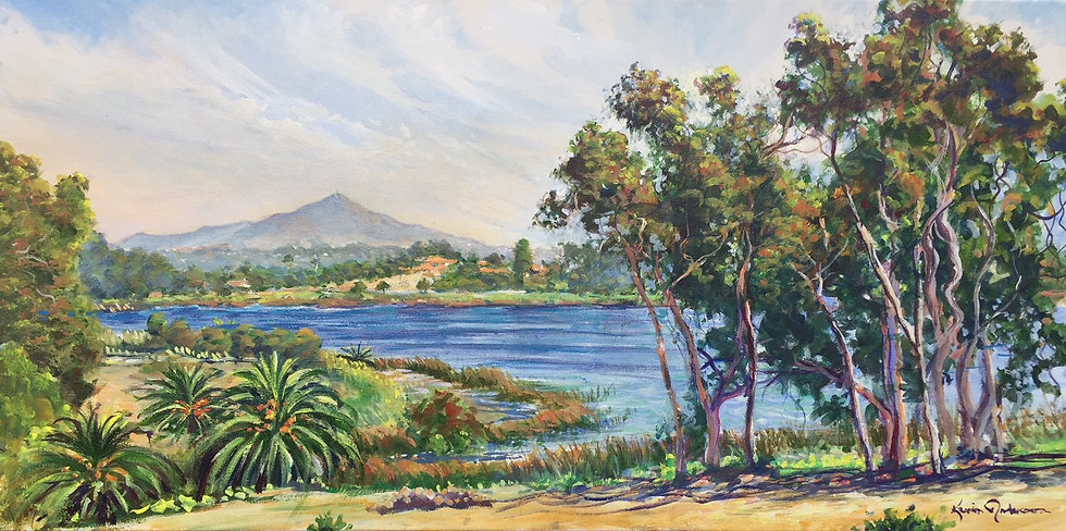 "Rancho Santa Fe Beauty 18""x 36"""