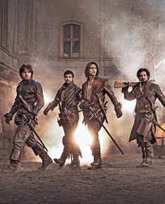 The Musketeers for the BBC