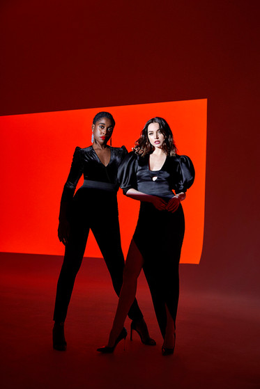 Lashana Lynch and Ana de Armas
