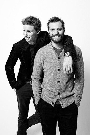 Eddie Redmayne and Jamie Dornan