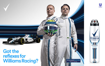 Williams Drivers for Rexona