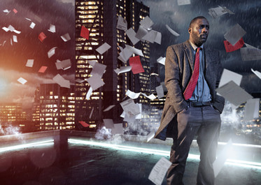 Idris Elba as Luther for the BBC