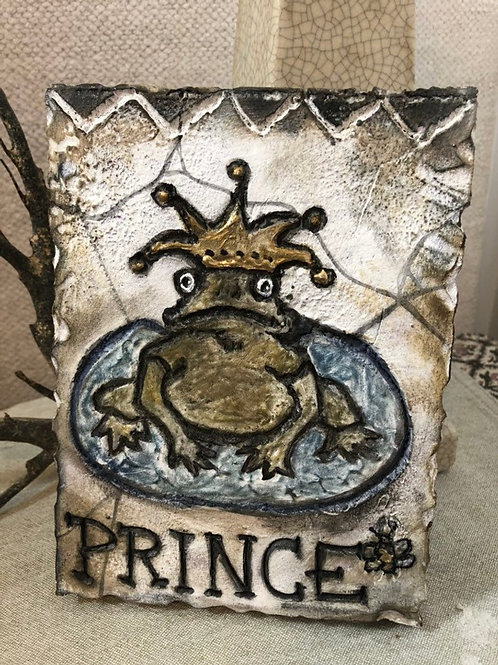 PRINCE * Artifact Plaque White Series