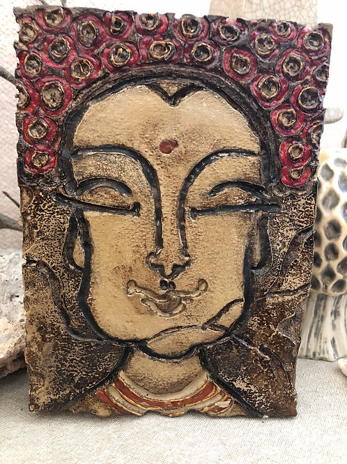 BUDDHA BLING * Artifact Plaque