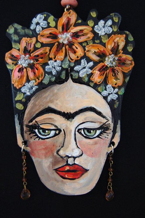 NASTURTIUM * Frida Kahlo Hanging Collectors Ornament