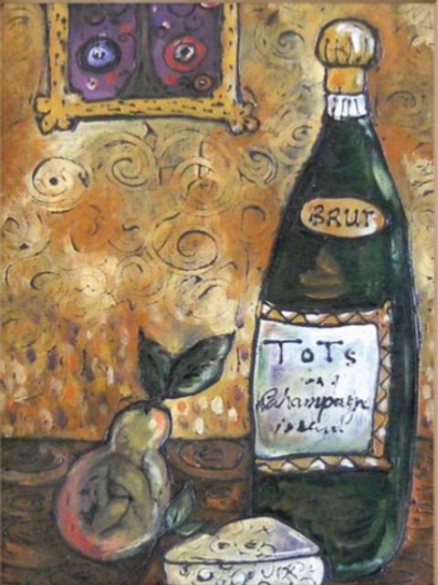 KLIMT'S KITCHEN SOLD ** BUY PRINTS TOTES TRAYS AND MORE