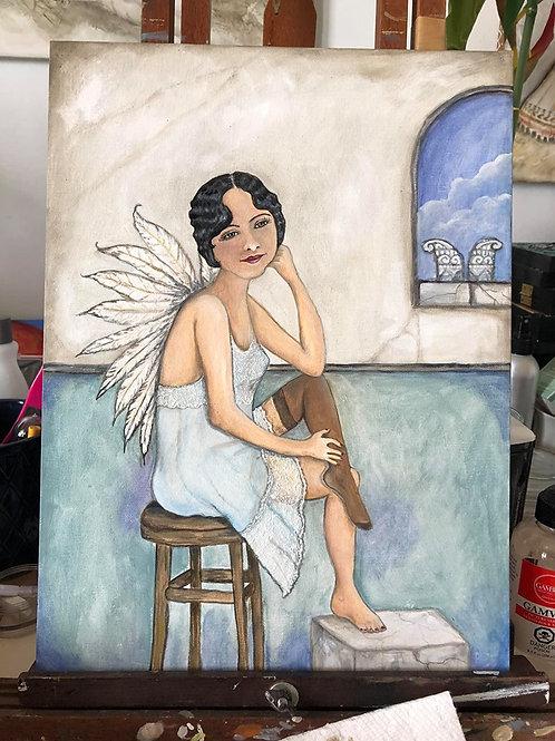 ANAIS ANAIS *Oil painting Portrait