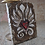 Thumbnail: HEART IN FLAMES * Artifact Plaque Love Series