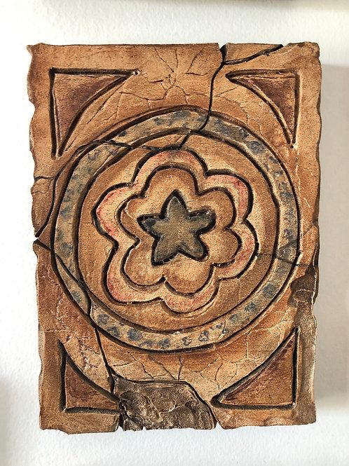 CLAY TILE * Artifact Plaque Morocco Series