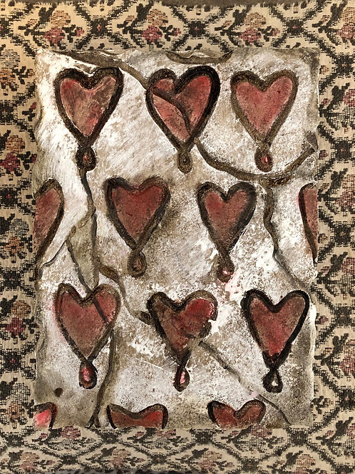 HEARTS * Artifact Plaque Love Series