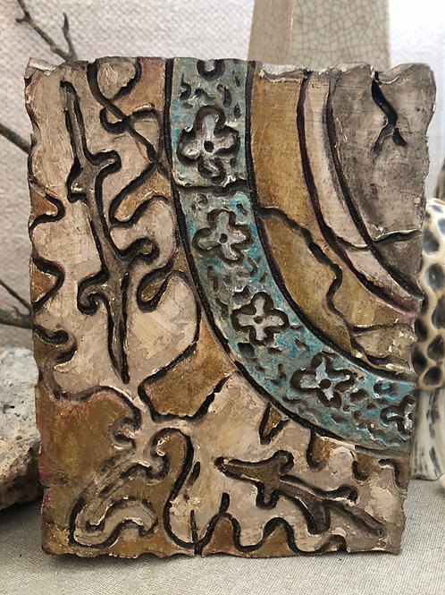 MOROCCO TILE * Artifact Plaque Morocco Series