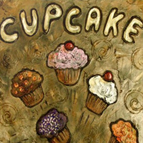CUPCAKE SOLD ** BUY PRINTS TOTES TRAYS AND MORE
