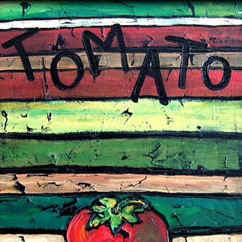 TOMATO SOLD ** BUY PRINTS TOTES TRAYS AND MORE