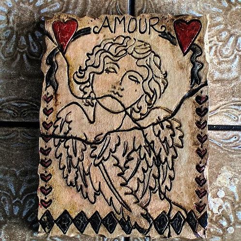 AMOUR * Artifact Plaque Love Series