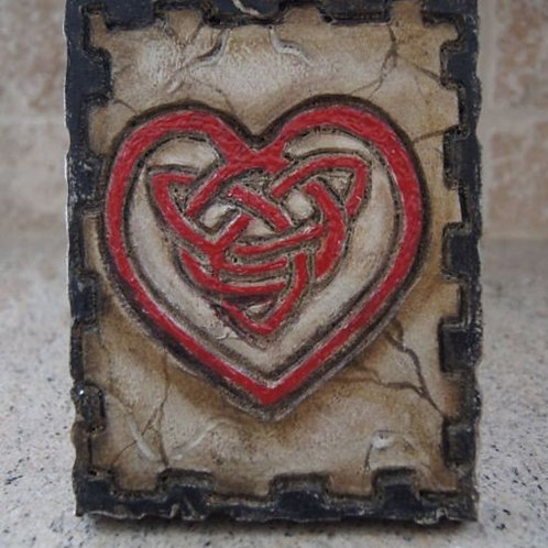 CELTIC HEART * Artifact Plaque Love Series