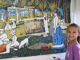 Towne Meadow creates all-school art exhibition
