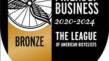 Carmel named bronze level 'Bicycle Friendly Business'
