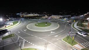 Carmel celebrates historic opening of 100th roundabout