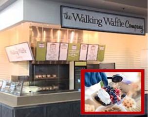 Enjoy Walking Waffles from Farmers Market all year long