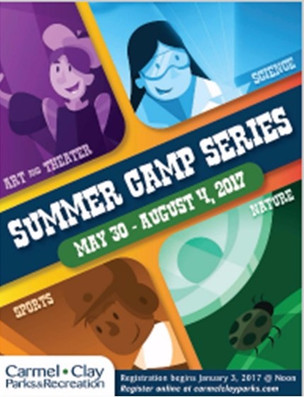 Summer Camp Sign Up - many choices from parks department