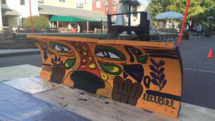 Artists plow into Carmel