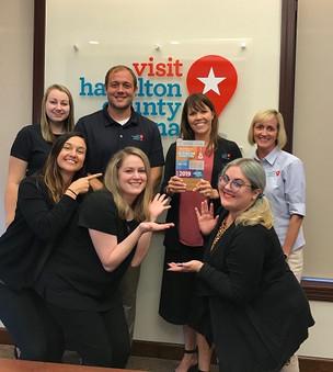 U.S. Travel Association presents Hamilton County Tourism the Destiny Award