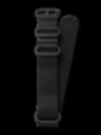 Bussora Retro Pilot Leather ZULU Strap Nero di Carbone