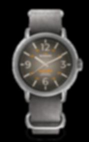 Bussora Bussora Retro Pilot Vintage Grigio Antico ZULU strap watch
