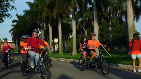 EmbRACE Photo Tandem Bicycling
