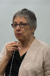 Anne Corn presenting at the FAER Conference in 2019