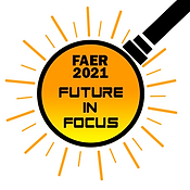 FAER 2021 Future in Focus Logo