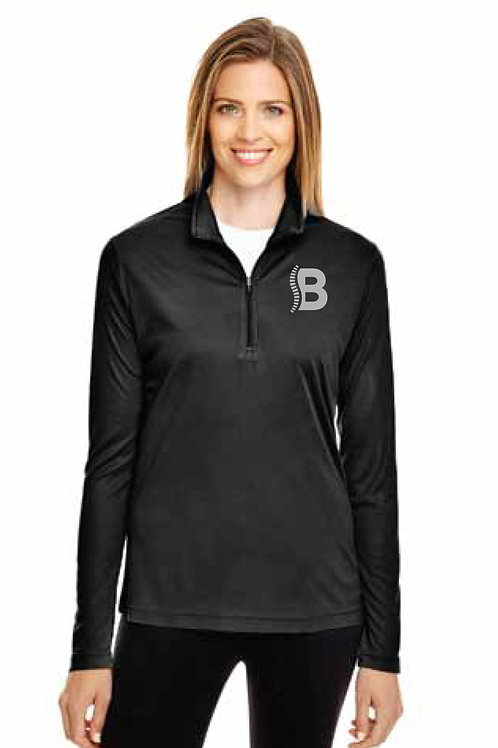 Champion Ladies Fleece 1/4 Zip Reflective Print