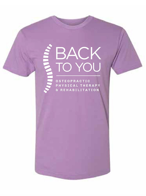 American Apparel T-Shirt in Orchid